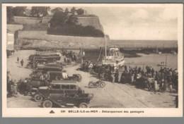 CPA 56 - Belle Ile En Mer - Débarquement Des Passagers - Belle Ile En Mer