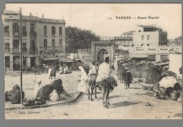CPA  Maroc - Tanger - Grand Marché - Tanger