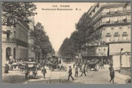 CPA 75 - Paris - Boulevard Haussmann - Frankrijk