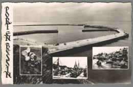 CPSM 14 - Port En Bessin - Carte Multivues - Port-en-Bessin-Huppain