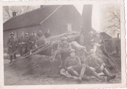 PHOTO  ORIGINALE ARMEE BELGE - ABBL - REGIMENT LANCIER 01 - 1939-45