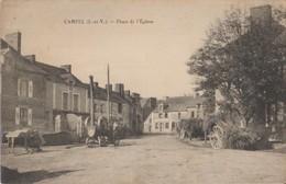 35 Campel Place De L'église Matériel Agricole Charrettes, Machine Pour Battage Superbe  -06 - France