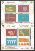 Serbie Et Monténégro CEPT 2005 Yvertn° Bloc 60-61 *** MNH Cote 18 € Cinquantenaire Cept Europa - Europa-CEPT