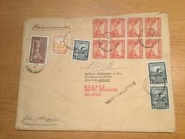 SCHW995 Haiti 1946 R-Brief Von Port-au-Prince Nach Zürich - Haití