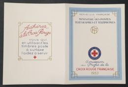 Carnet Croix Rouge De 1953  Neuf ** à -18% De La Cote  TTB. - Booklets