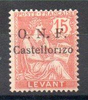 CASTELLORIZO - YT N° 19 - Neuf * - MH - Cote: 65,00 € - Castellorizo (1920)
