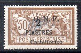 CASTELLORIZO - YT N° 24 - Neuf * - MH - Cote: 90,00 € - Castellorizo (1920)