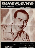 QUIERE VALS PERUANO LETRA Y MUSICA DE LUIS ABANTO MORALES - NTVG. - Partituras
