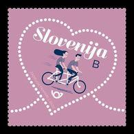 Slovenia 2020 Mih. 1402 St. Valentine's Day. Bicycle MNH ** - Slovenia