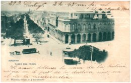 HABANA - Paseo Del Prado - Cuba
