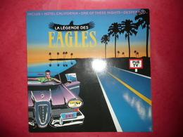 LP N°1959 - LA LEGENDE THE EAGLES - GRAND GROUPE BON DISQUE POUR DEMARRER THE EAGLES - Rock