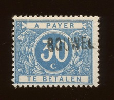 15 A Taxe * Surcharge. BOUWEL. Neuf Propre Charnière. Cote 30,-€ - Postage Due