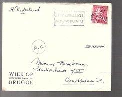 1940 Wiek Op Leopoldlaan 107 Brugge > Amsterdam Holland (915) - Bélgica