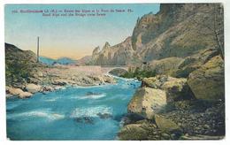 GUILLAUMES - Route Des Alpes & Pont De Sauze - Bon état - Autres Communes