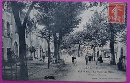 Cpa Cajarc Le Tour De Ville Carte Postale 46 Lot Rare - Otros Municipios