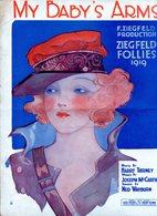 MY BABY'S D ZIEGFELD PRODUCTION ZIEGFELD FOLLIES 1919 PARTITURA - NTVG. - Partituras