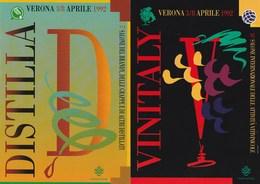 Eventi - Manifestazioni - Verona 1992 - 26° Vinitaly - 5° Distilla - - Manifestazioni