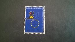 Timbre Ancien Vendu à 15% De Sa Valeur Catalogue: Cob 3014 Oblitéré - Belgium