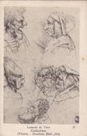 Leonardo Da Vinci Caricature Avenezia Artist Artiest Kunstenaar Artista - Artistes