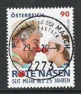 Oostenrijk, Mi  Jaar 2020, Rode Neuzen, Uitgifte Februari 2020,   Prachtig Gestempeld - 1945-.... 2ème République