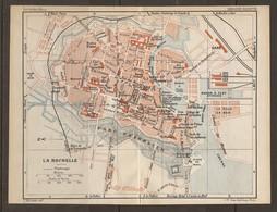 CARTE PLAN 1931 LA ROCHELLE - HALTE De La TROMPETTE PARC CHARRUYER  PLAGE Du MAIL Sté D'HORTICULTURE - Mapas Topográficas