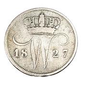10 Cent - Hollande - 1827 - Argent 569/°° - TB + - - - [ 3] 1815-… : Royaume Des Pays-Bas