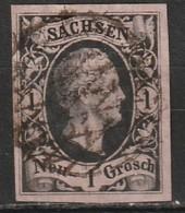 Saxe N° 3, Quatre Belles Marges - Sachsen