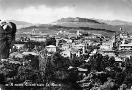 "1022""RIMINI - MONTE TITANO  -""   CARTOL ORIGINALE 1967 - Rimini"
