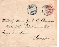 Nederlands Indië - 1922 - Geuzendam - Sumatra - Nederlands-Indië