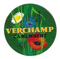 ETIQUETTE De FROMAGE..CAMEMBERT Fabriqué En BRETAGNE ( Finistère 29)..Verchamp - Formaggio