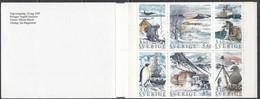 Schweden 1989 - Polarforschung, MH 141, MNH** - Booklets
