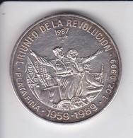 MONEDA DE PLATA DE CUBA DE 10 PESOS AÑO 1987 TRIUNFO DE LA REVOLUCION (LA DE LA FOTO) - Cuba