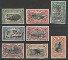 CONGO BELGE - Non Dentelés X (Traces De Charnières) - 1894-1923 Mols: Mint/hinged