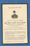FAIRE PART DECES MILITAIRE  AVIATEUR AVIATION LIEUTENANT PILOTE 84 REGIMENT 1923 MERIGNAC - Documents