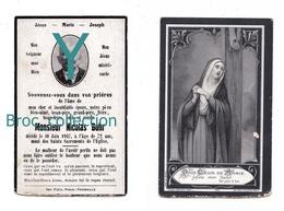 Launstroff, Mémento De Pierre Bohr, 10/06/1947, 72 Ans, époux Marie Fousse, Souvenir Mortuaire, Décès, Deuil - Images Religieuses