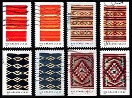 Etats-Unis / United States (Scott No.3926-29 - Couverte Du / Rio Grande / Blankets) (o) (P2-P3 - Oblitérés
