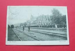 Ufa (Oufa) - 1911 - Russia --- Railway Station , Wokzal , Russie Russland --- 285 - Russie