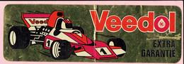 Sticker - Veedol Extra Garantie - Race Auto - Autocollants