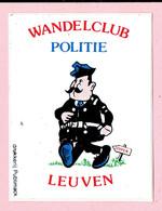 Sticker - Wandelclub POLITIE Leuven - Autocollants