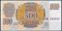 1992 Pick 42 - 500 Rubļu - Extremely Fine - Lettonie
