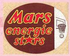 Sticker - Mars Energie Stars - Korfbal - Autocollants