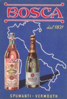 1940ca.-Bosca Dal 1831 Spumanti Vermouth - Commerce