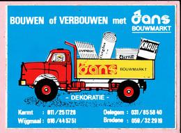 Sticker - Bouwen En Verbouwen Met Jans Bouwmarkt - Kermt - Wijgmaal - Oelegem - Bredene - Autocollants