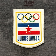 Sticker SU000024 - Yugoslavia Jugoslavija National Olympics Committee NOC - Kleding, Souvenirs & Andere