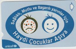 "Turkey Unicef  Phone Card ""vaccinationt""    (items 151-200) - Turkey"