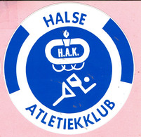 Sticker - HALSE ATLETIEKKLUB - H.A.K. - Autocollants