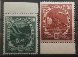 Roumanie 1951 / Yvert Poste Aérienne N°57-58 / ** - Neufs