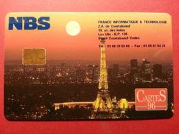 NBS CARTES 96 USA CANADA UK 1996 France Informatique Technologie Demo  (BB0220 - Unknown Origin