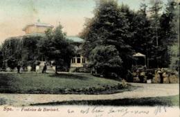 Spa Fontaine De Barisart Circulée En 1905 - Spa