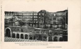Incendie De L'Entrepôt Royal D'Anvers 5 Juin 1901 - Antwerpen
